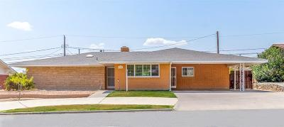 El Paso Single Family Home For Sale: 4337 Stanton Street