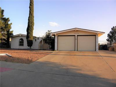 El Paso Single Family Home For Sale: 10552 Candlewood Avenue