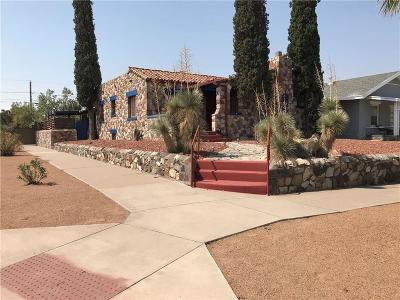 El Paso Single Family Home For Sale: 4430 Bliss Avenue