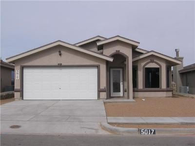 El Paso Single Family Home For Sale: 12576 Arrow Weed Drive