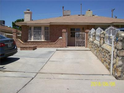 El Paso Single Family Home For Sale: 1913 Estrada Drive