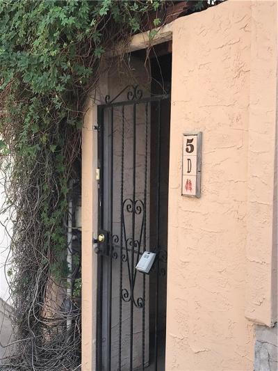 Condo/Townhouse For Sale: 2520 San Jose Avenue #5D