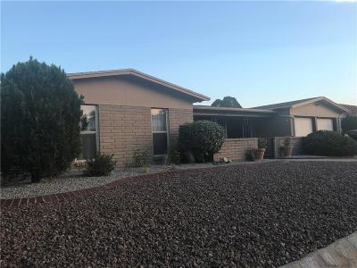 El Paso TX Single Family Home For Sale: $188,900