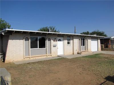 El Paso Single Family Home For Sale: 10541 Clearwater Street