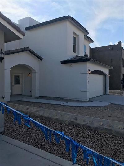 El Paso Single Family Home For Sale: 13646 Linton