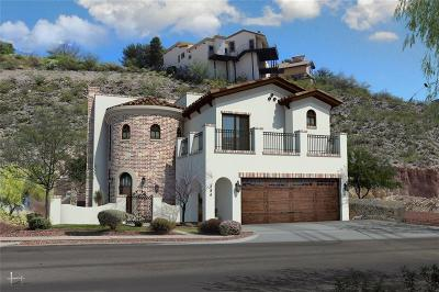 El Paso Single Family Home For Sale: 234 Canyon Terrace Drive