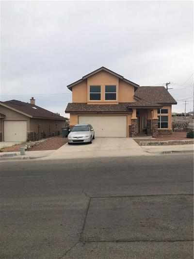 El Paso Single Family Home For Sale: 6901 Swede Johnsen Drive