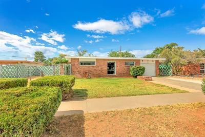 El Paso Single Family Home For Sale: 5336 Juliandra Avenue