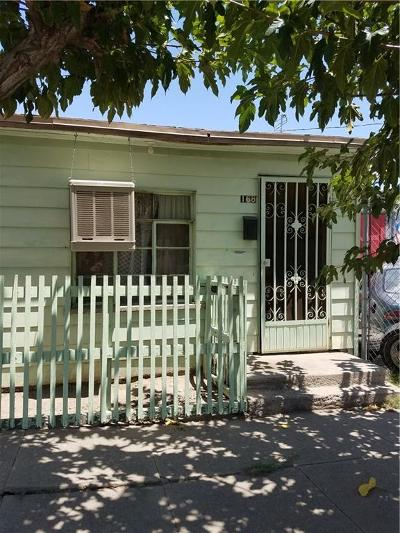 El Paso Single Family Home For Sale: 168 Brown Street