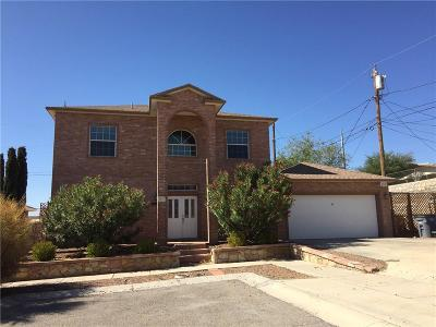 El Paso Single Family Home For Sale: 4058 Tibuni Place