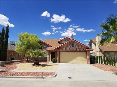 Single Family Home For Sale: 12247 Delacroix Drive