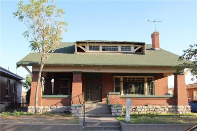 El Paso Single Family Home For Sale: 3508 Tularosa Avenue