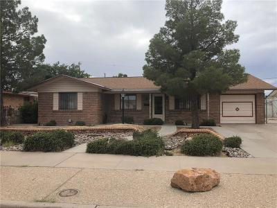 El Paso Single Family Home For Sale: 3345 Limerick Road
