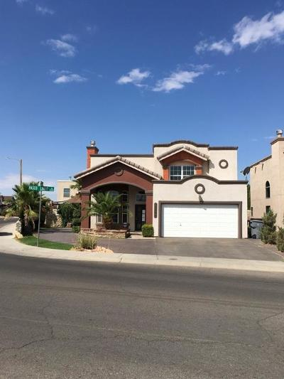 El Paso Single Family Home For Sale: 12598 Paseo Lindo Drive