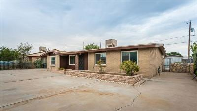 El Paso TX Single Family Home For Sale: $94,990