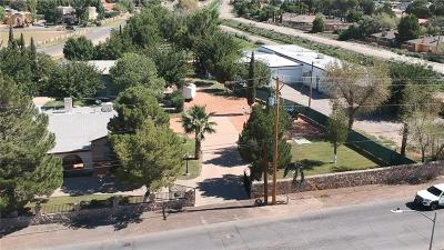El Paso Single Family Home For Sale: 609 Redd Road