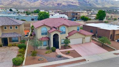El Paso Single Family Home For Sale: 1264 Franklin Quail Place