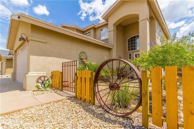El Paso Single Family Home For Sale: 6404 Berringer Street
