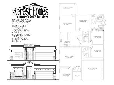 El Paso Single Family Home For Sale: 2633 Tierra Murcia