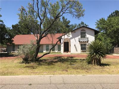 El Paso Single Family Home For Sale: 721 La Mancha Court