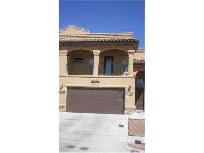 El Paso Single Family Home For Sale: 11667 Dos Palmas Drive #B