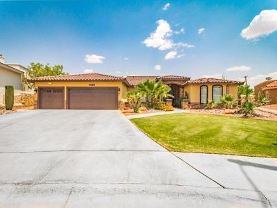 El Paso Single Family Home For Sale: 12298 Bronco Buster Lane