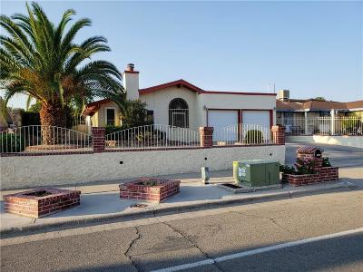 El Paso Single Family Home For Sale: 11745 Chito Samaniego Drive