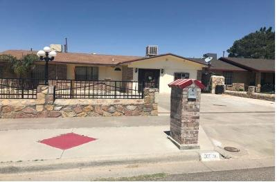 El Paso Single Family Home For Sale: 3309 Funston Place