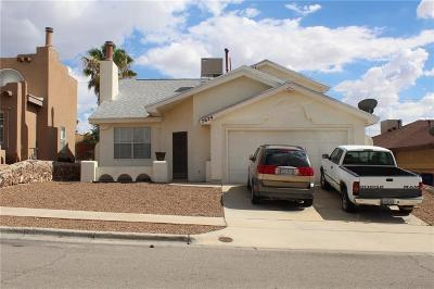 El Paso Single Family Home For Sale: 7624 Windcrest Drive