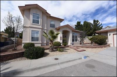 El Paso Single Family Home For Sale: 1449 Jettie Ray