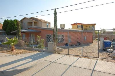 El Paso Single Family Home For Sale: 5871 Ethel Road