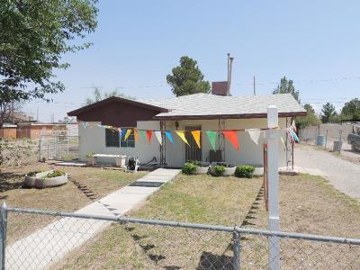 El Paso TX Single Family Home For Sale: $89,500