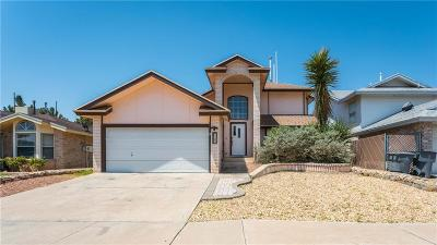 El Paso Single Family Home For Sale: 1763 Crested Quail Drive