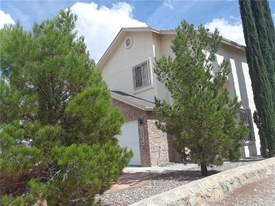 El Paso TX Single Family Home For Sale: $135,000