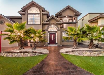 El Paso Single Family Home For Sale: 12413 Paseo Alegre Drive