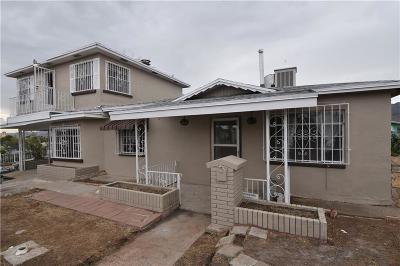 El Paso Single Family Home For Sale: 2101 Howze Street
