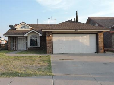 El Paso Single Family Home For Sale: 12116 Desert Quail Avenue