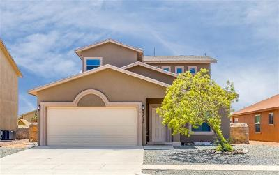 El Paso Single Family Home For Sale: 7016 Datil Drive