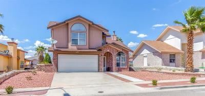 El Paso Single Family Home For Sale: 7149 Oval Rock Drive