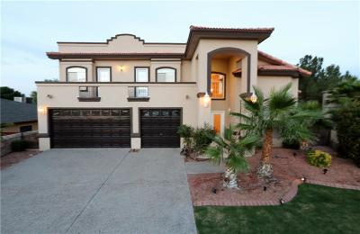 El Paso Single Family Home For Sale: 1328 Cora Bell Place