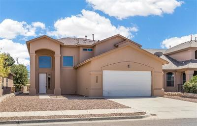 El Paso Single Family Home For Sale: 5388 Ignacio Frias Drive