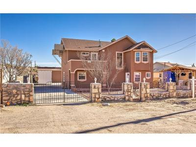 Horizon City Single Family Home For Sale: 13048 Sparks Drive