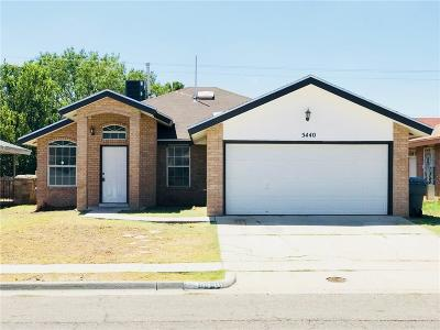 El Paso Single Family Home For Sale: 5440 Colin Powell Ave Avenue