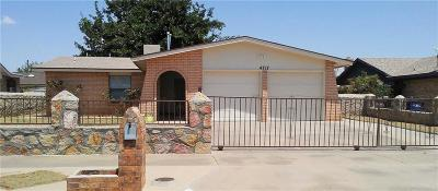 Single Family Home For Sale: 4717 G V Underwood Drive