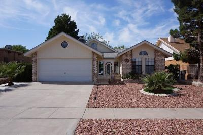 El Paso Single Family Home For Sale: 11952 Francis Scobee Drive