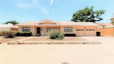 El Paso TX Single Family Home For Sale: $145,500