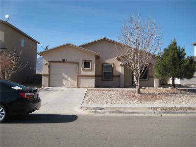 El Paso TX Single Family Home For Sale: $117,900