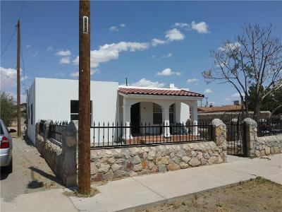 El Paso Single Family Home For Sale: 7215 Dale Road
