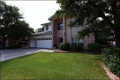 El Paso Single Family Home For Sale: 5924 Via Norte Lane NE