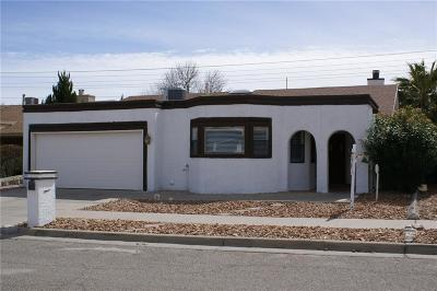 El Paso TX Single Family Home For Sale: $168,000